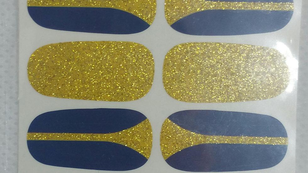 Gold attire