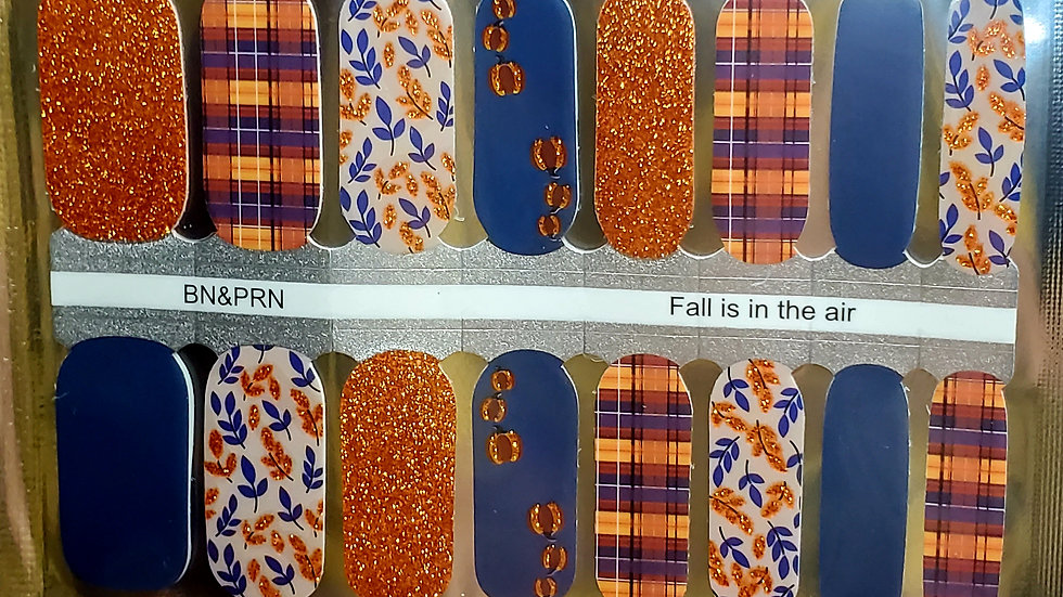 Fall in in the air - Nail Polish Strips Nail wraps