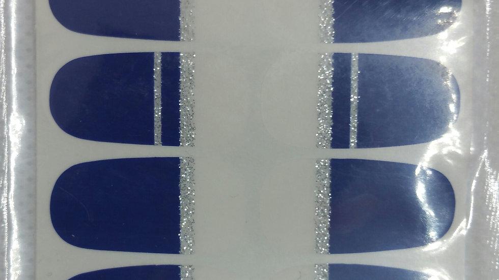 Straight blue tips