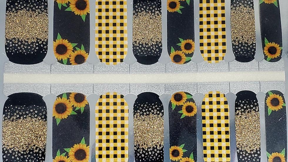 Sunflower basket- Exclusive Design/Limited edition