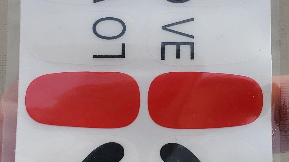 LO VE Black hearts