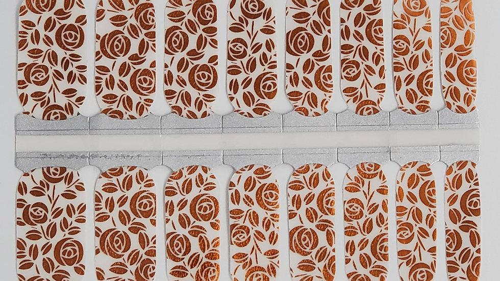 Copper Roses- Overlay Design