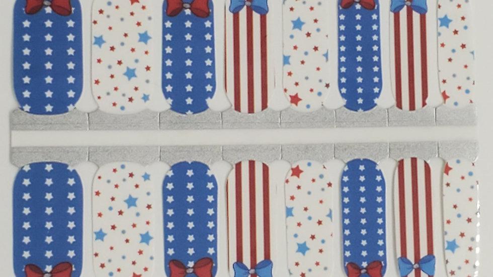 Patriotic Bows- Patriotic Design