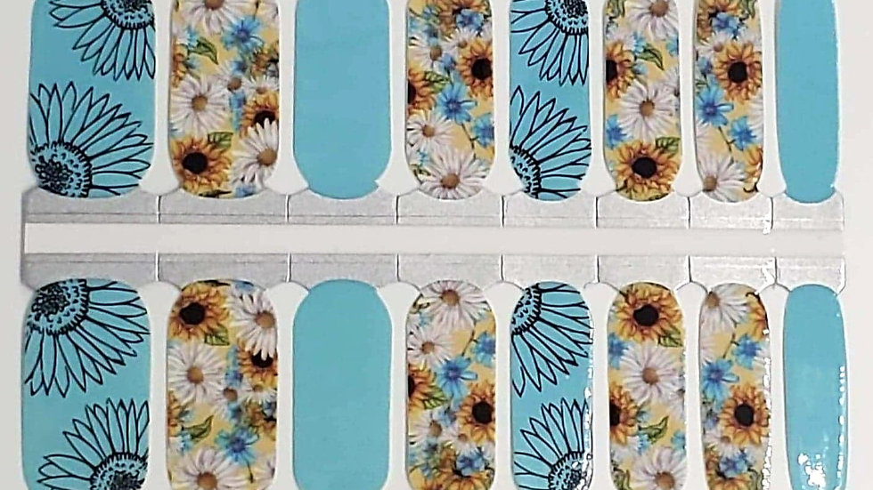 Daisies and Sunflowers- Sunflower Design
