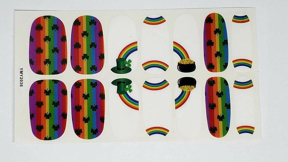 Irish V rainbow