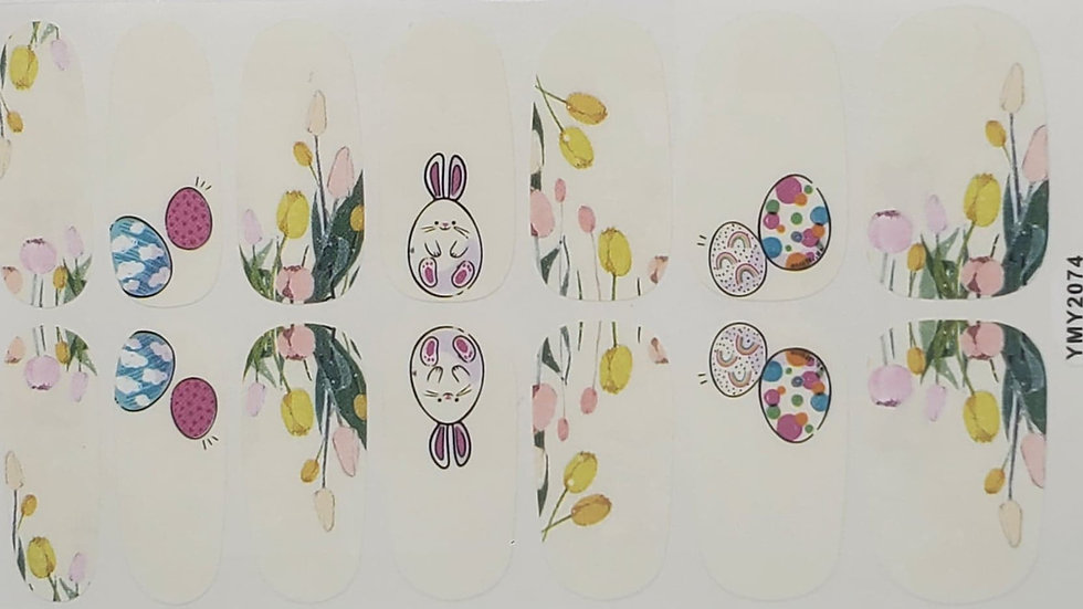 Rainbow eggs - Easter