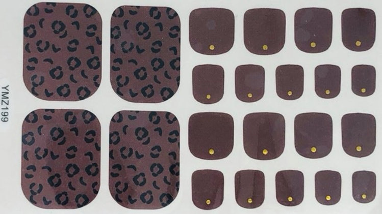 Cocoa leopard Toes