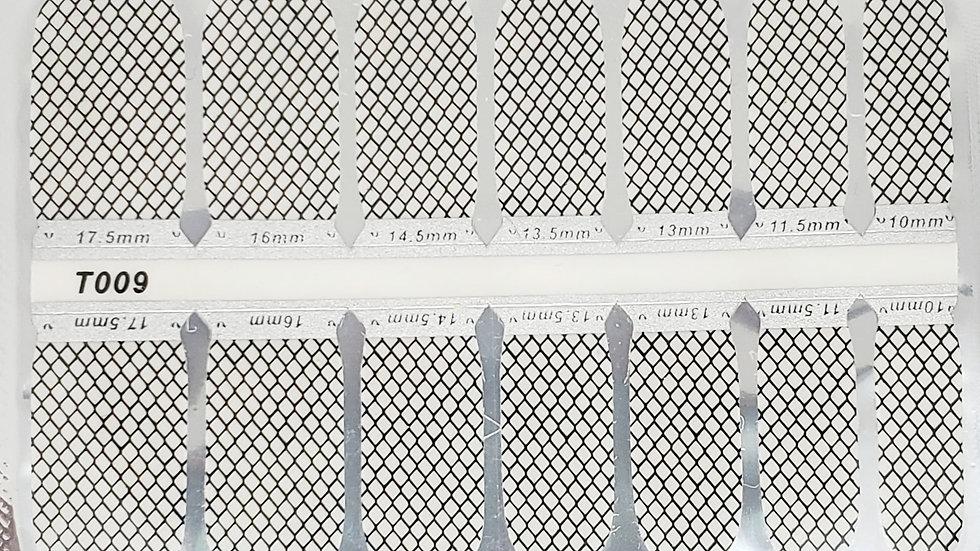 Black Fishnet-Overlay Design