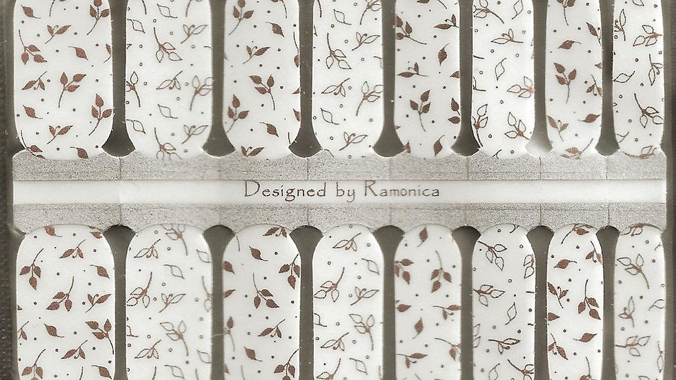 Leaf Rose Gold Overlay- Limited Edition Design