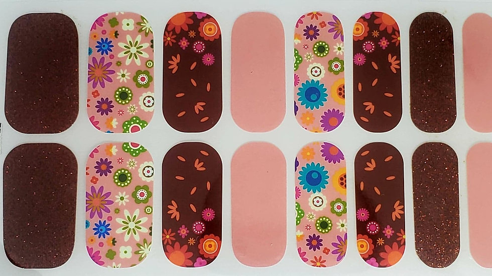 Pink and Fall Floral