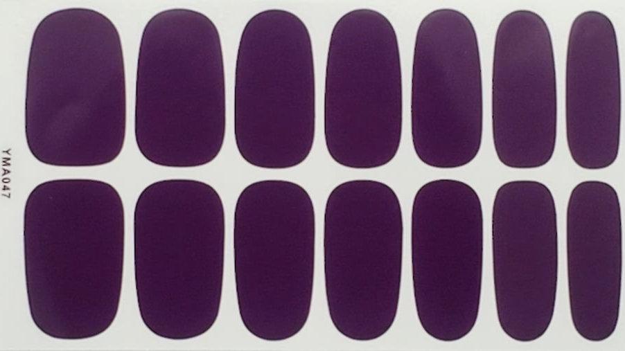 Eggplant Purple - Solid Design