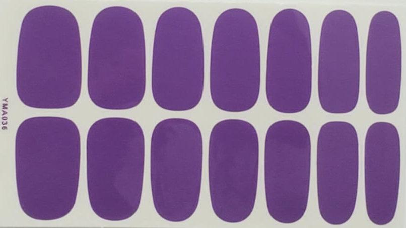 Heather Purple - Solid Design