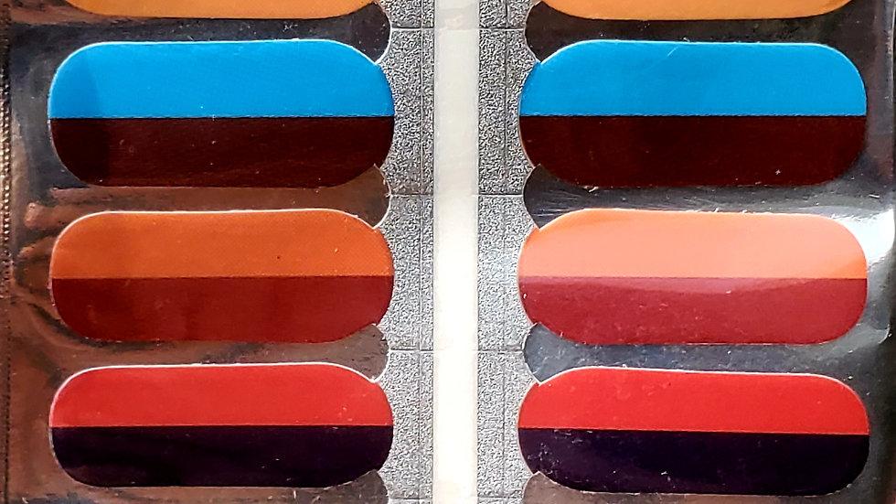 Palette Nail Polish Strips
