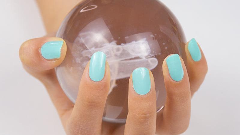 Gel Nail Wraps- Beach Glass