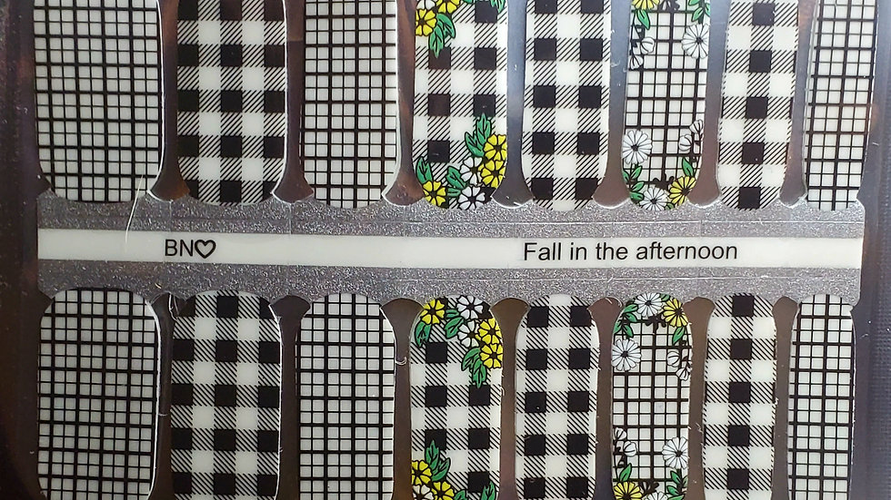 Fall in the afternoon - Nail Polish strips Nail wraps