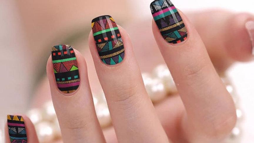 Aztec colorful pattern
