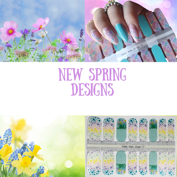 Pink Blue Floral Pastel Photo Spring Bre