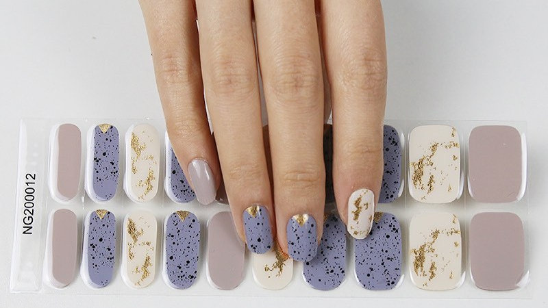 Gel Nail Wraps- The Ugly Duckling