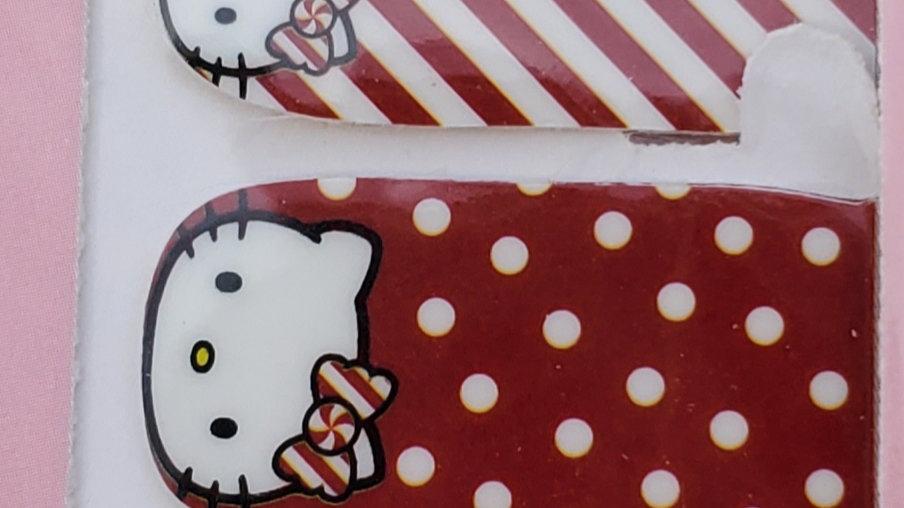 Hello Kitty Christmas in polkas