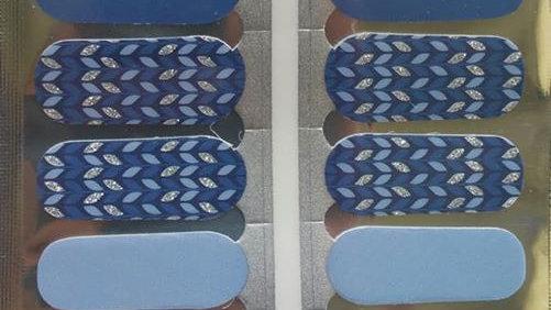 Glitter Blue knit