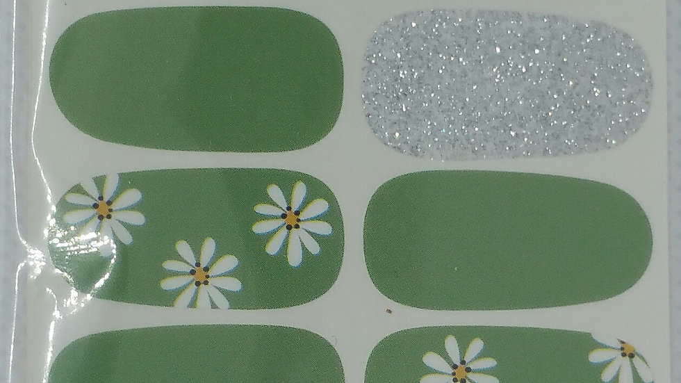 Olive daisies