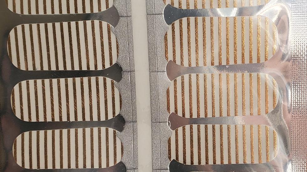 Gold stripes (transparent)