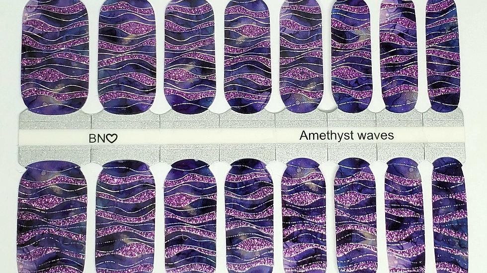 Amethyst waves