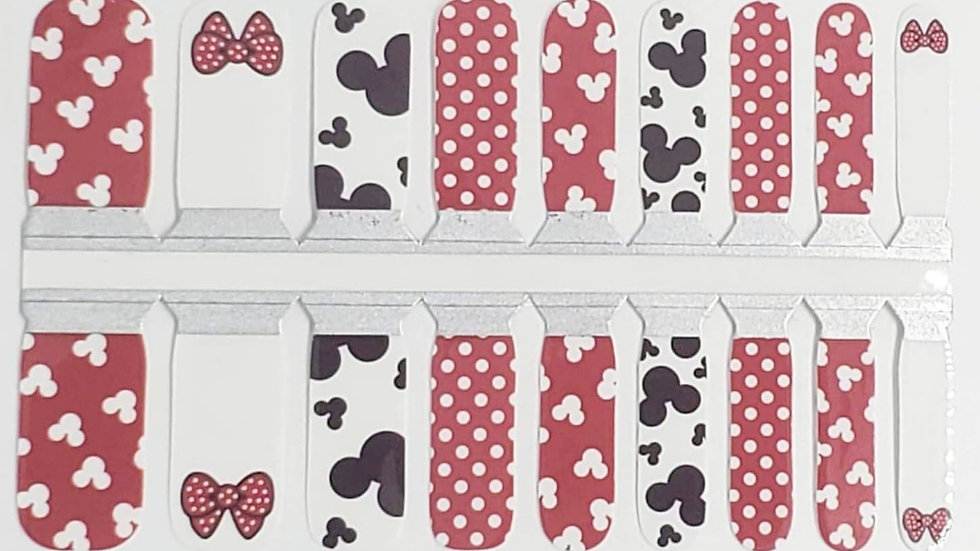 Mickey and Bows- Kids Design