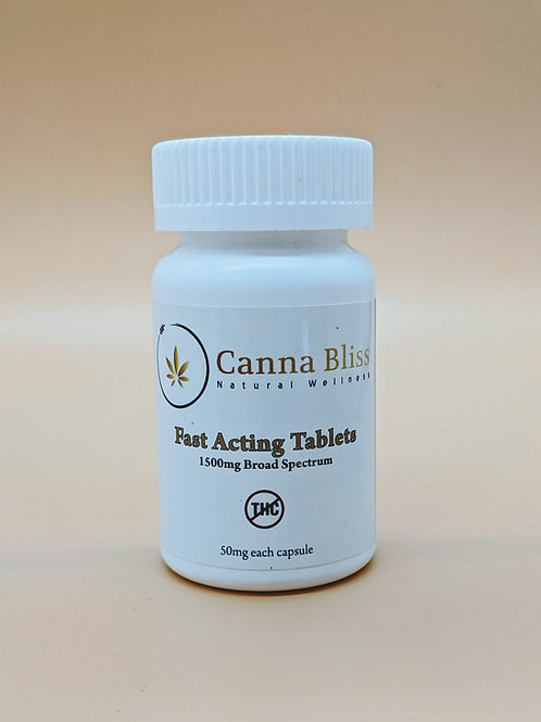 1500mg THC Free Tablets