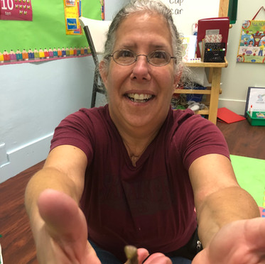 Ms. Sheri and a mantis