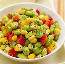 Edamame Salad & Honey Lime Dressing