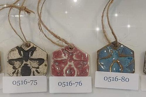 Silver Dollar Ornaments