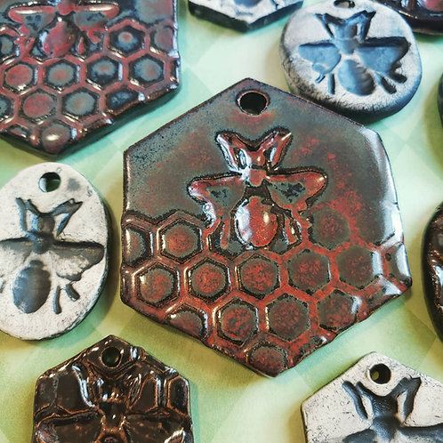 Bee Ornaments - small