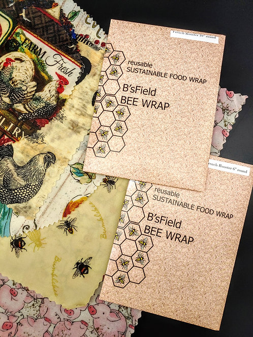 Beeswax Wrap Set of 5
