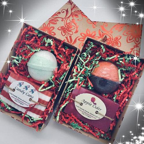 Gift Set Duo: Bath Bomb & Soap