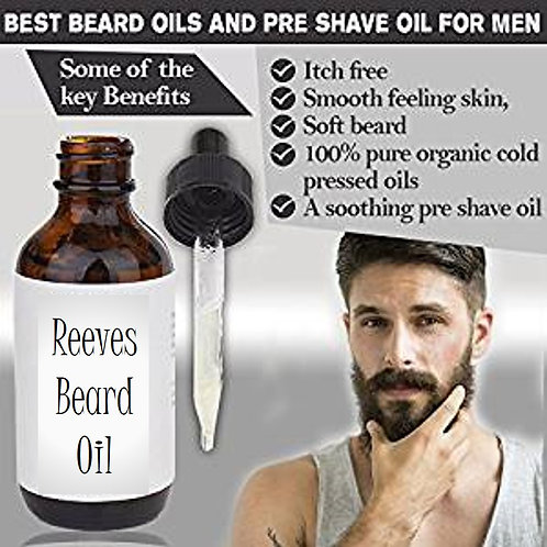 Reeves Beard Oil, 1oz