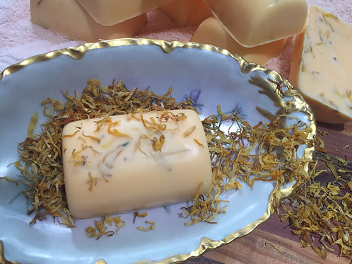 Honey Mango Calendula Bath Bars