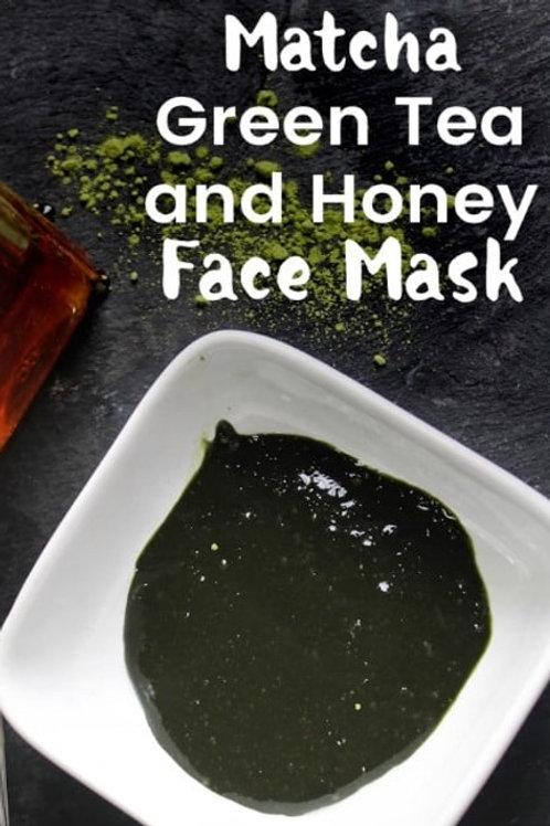 Matcha & Honey Facial, 2oz