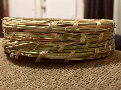 Pine Needle Ring Basket