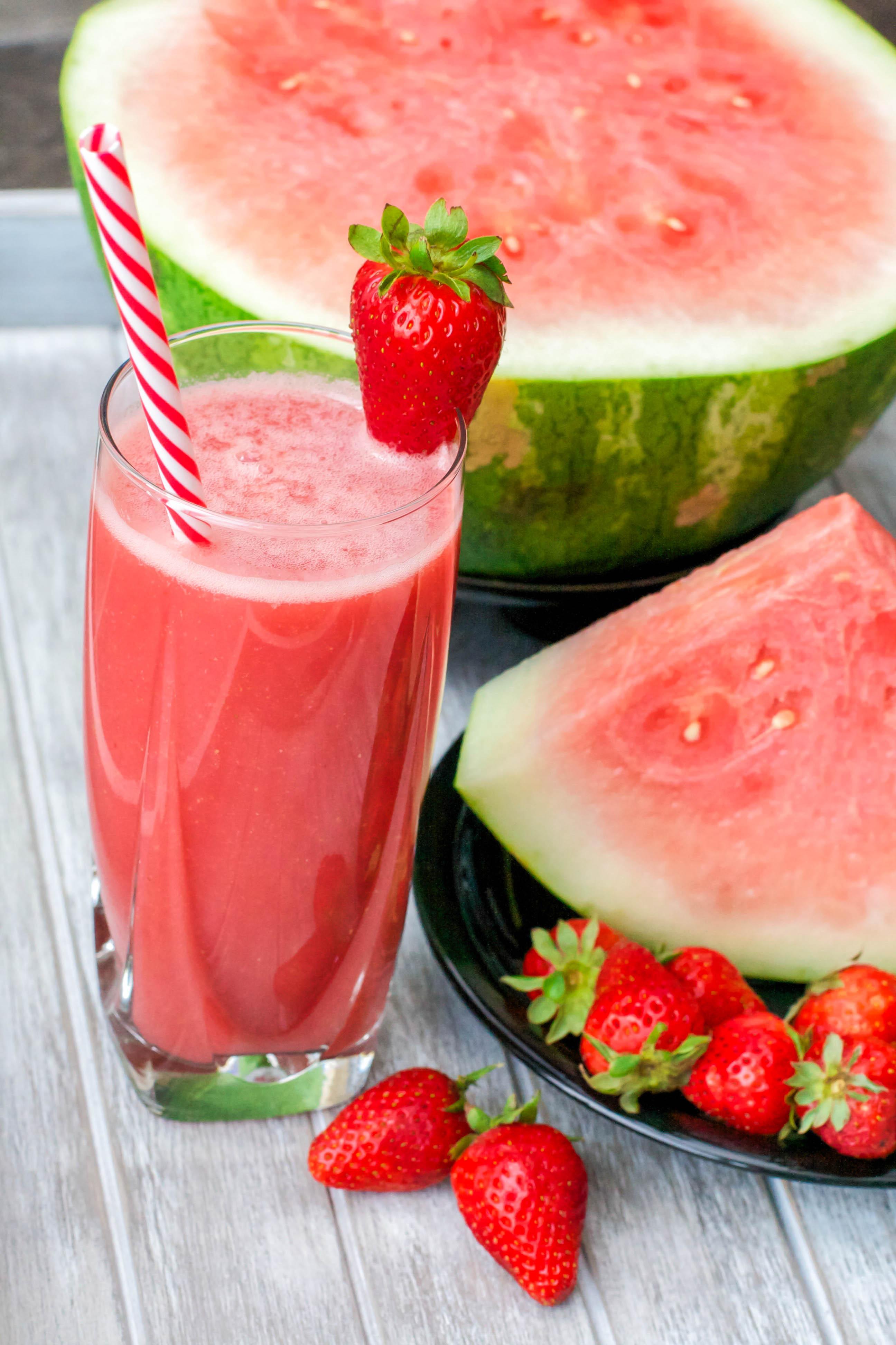 Melon Berry Juice