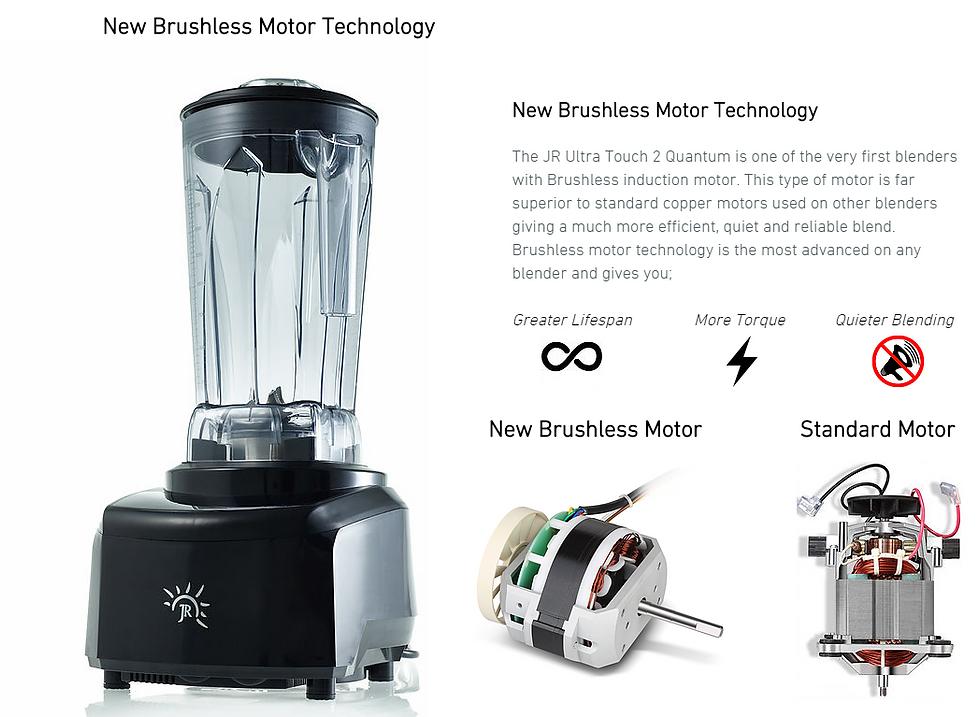 Jr Ultra Touch 3 Quantum Brushless Commercial Blender 2