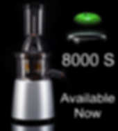 JR Ultra 8000 S Whole Slow Juicer