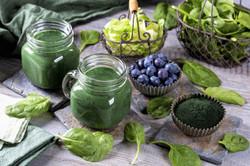 Blue Spinach Juice
