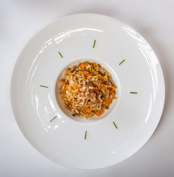 Basmati rice with veggie