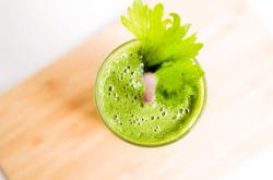 Orange Cucumber Juice