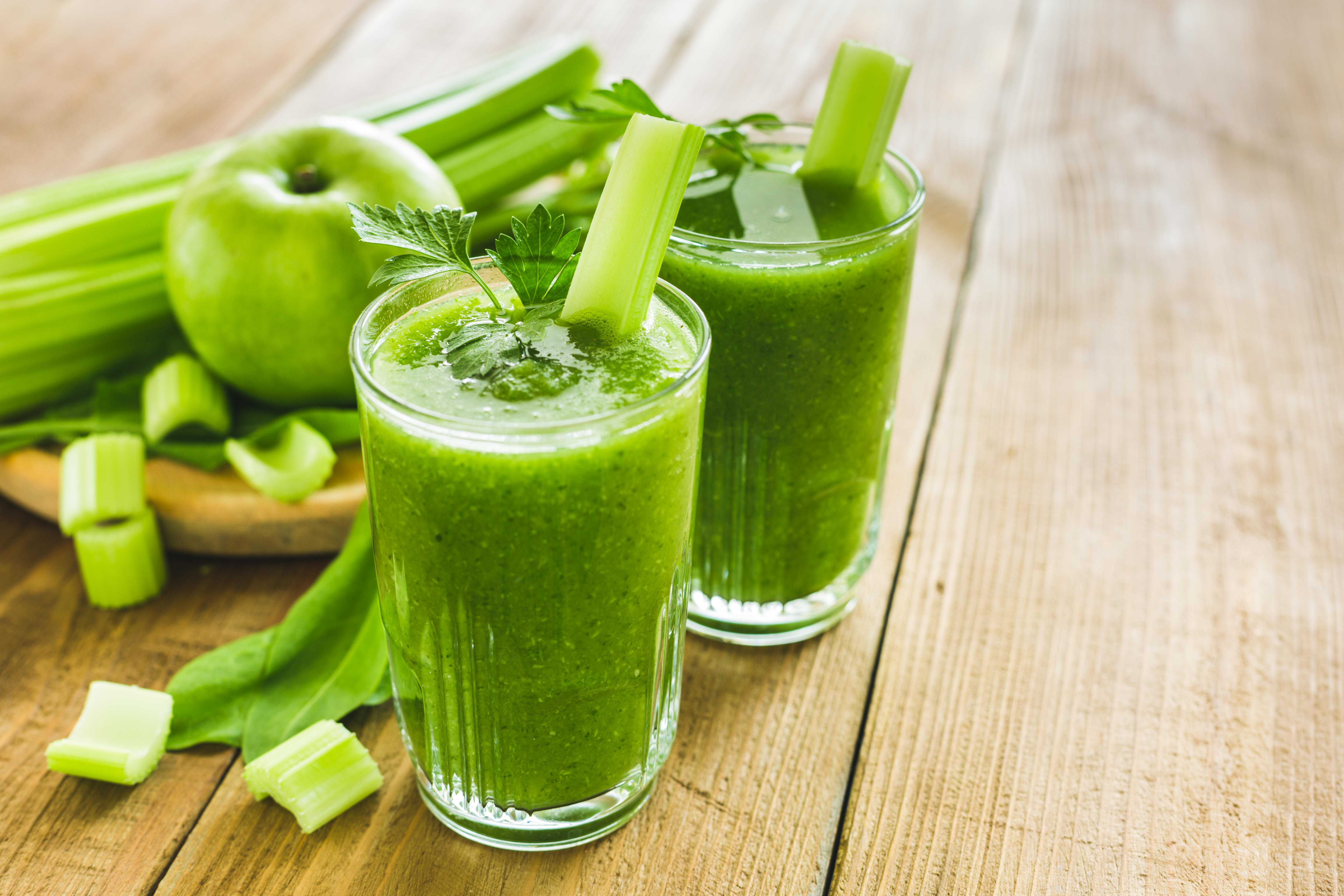 Cool Green Ginger Juice