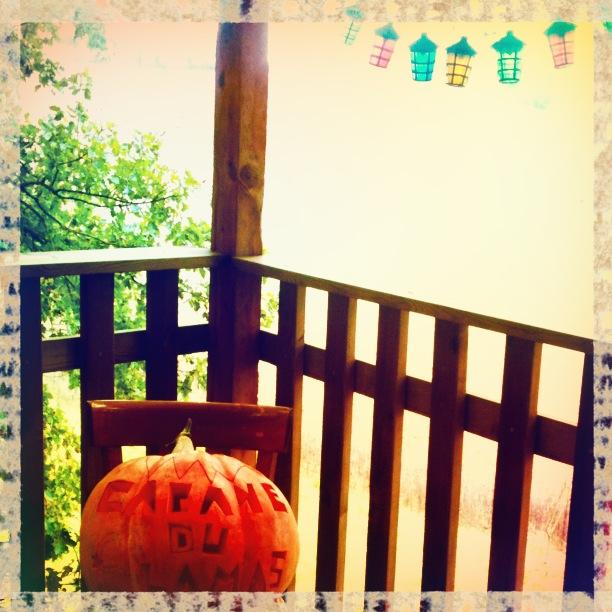 Halloween Cabane du lamas