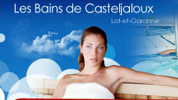 Les thermes de Casteljaloux