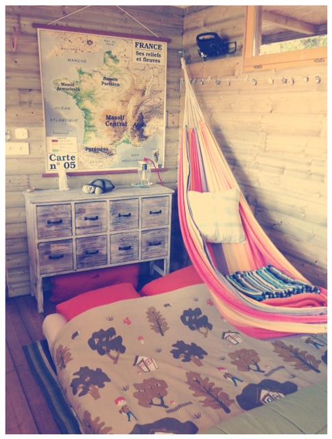 Nouvelle chambre hamac