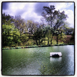 le lac de la cabane du lamas